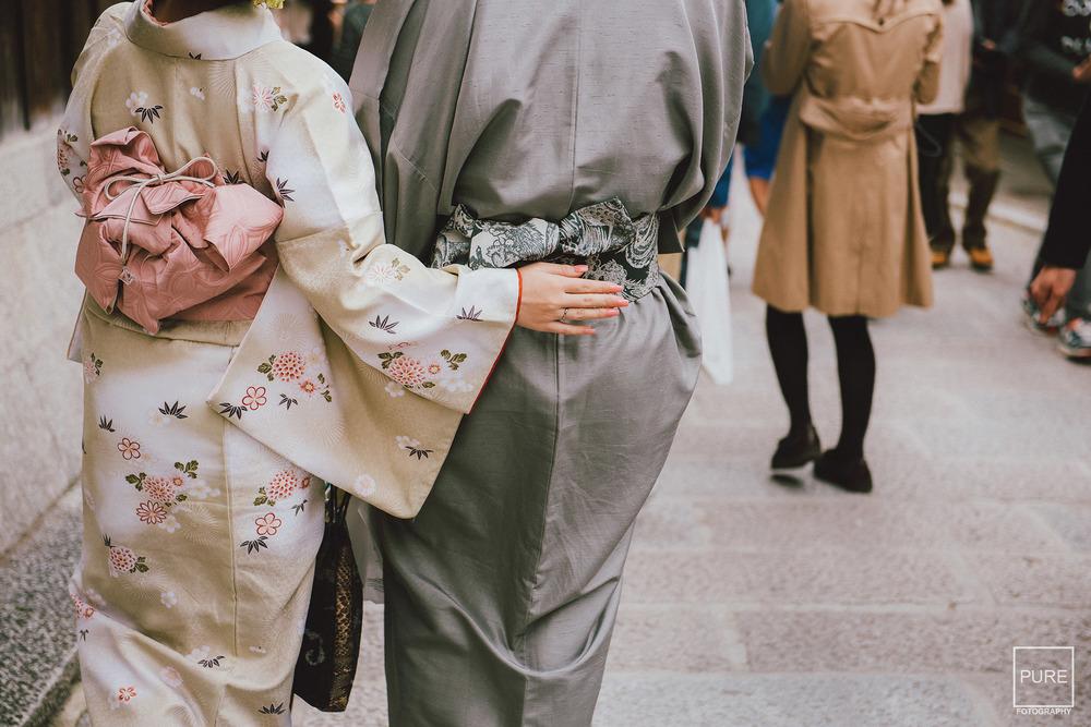 海外婚紗 和服寫真 京都櫻花 京都紅葉