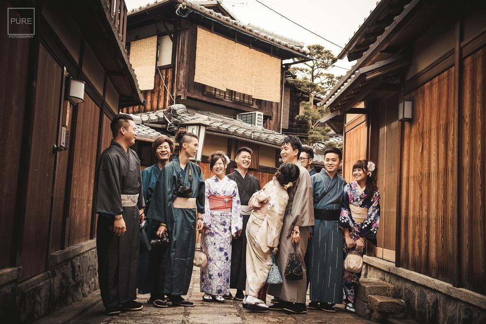 京都海外婚紗 和服寫真 寧寧之道