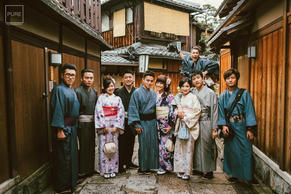 海外婚紗 京都和服 和服寫真 寧寧之道 日本婚紗