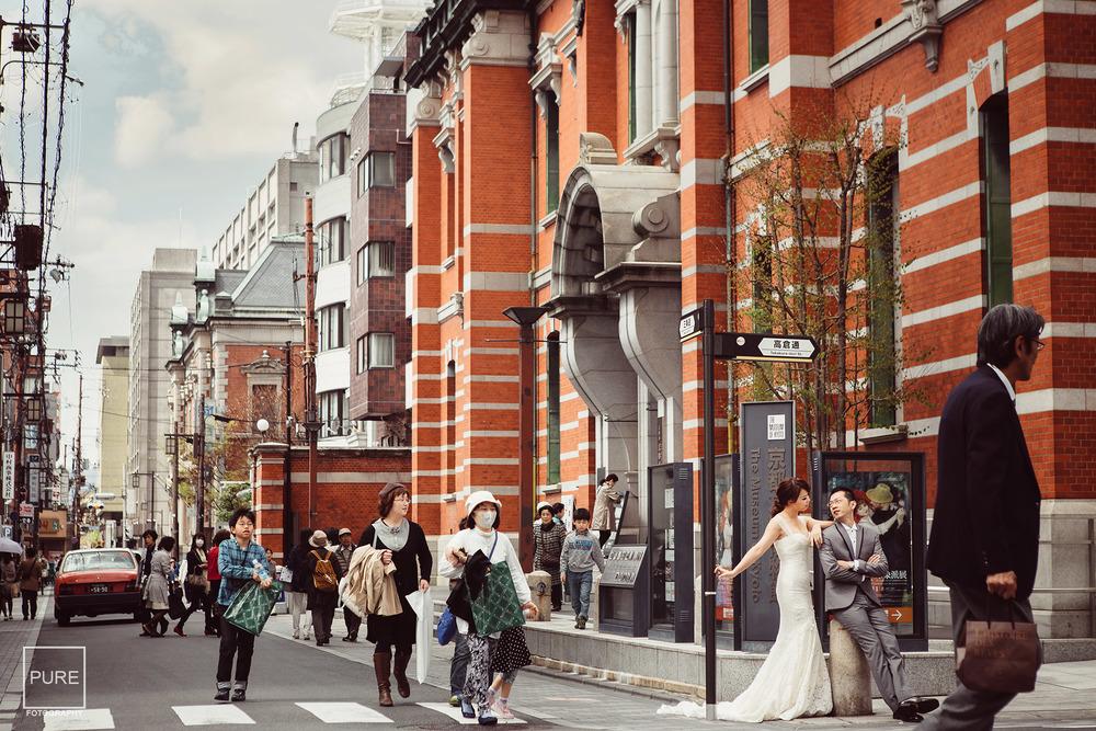 京都婚紗 海外婚紗拍攝 婚紗工作室 京都文化博物館