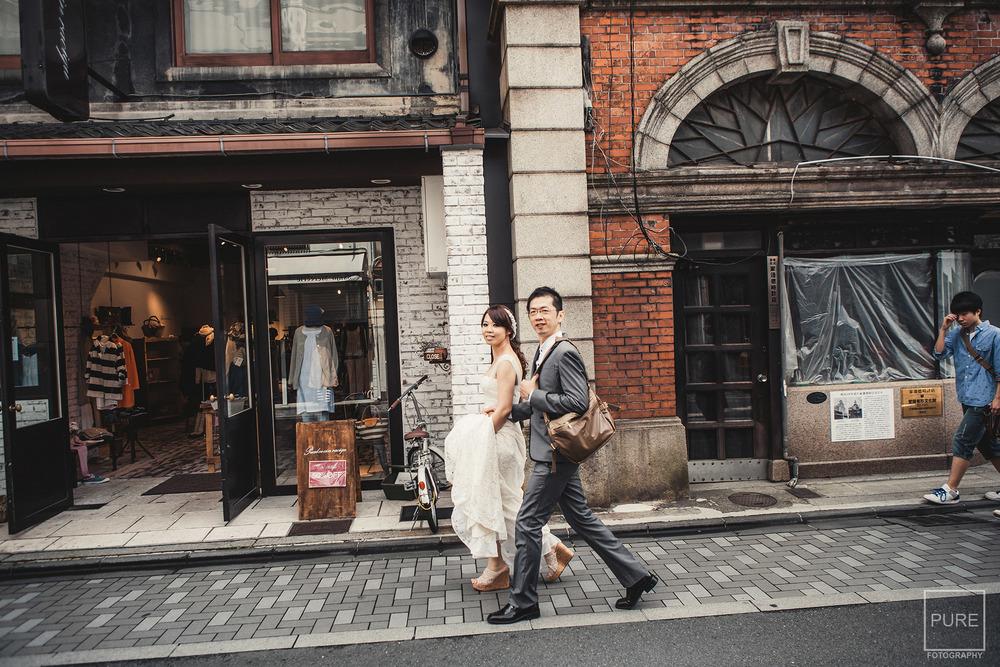 海外婚紗 京都婚紗 京都文化博物館 自助婚紗