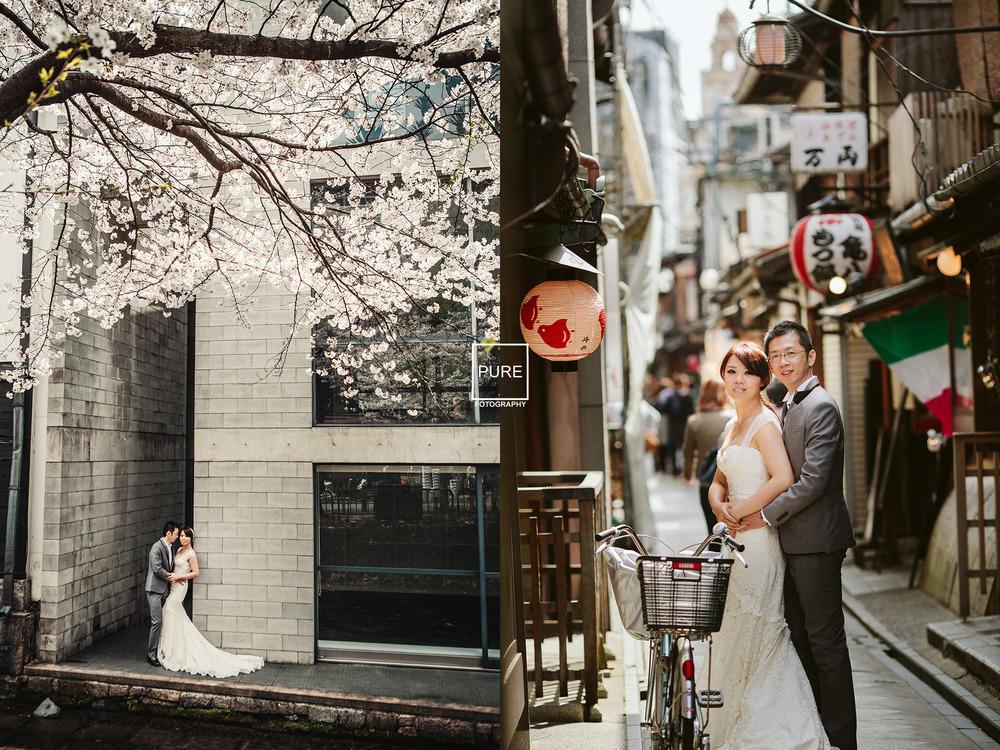 海外婚紗旅拍 海外婚紗京都 高瀨川 先斗町