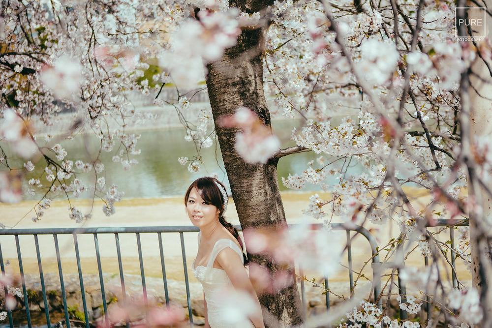 海外婚紗拍攝 京都海外婚紗 鴨川 先斗町