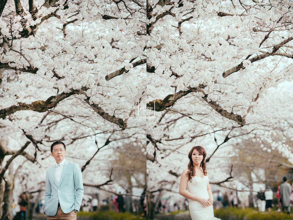 海外自助婚紗 哲學之道 京都婚紗拍攝 京都婚紗