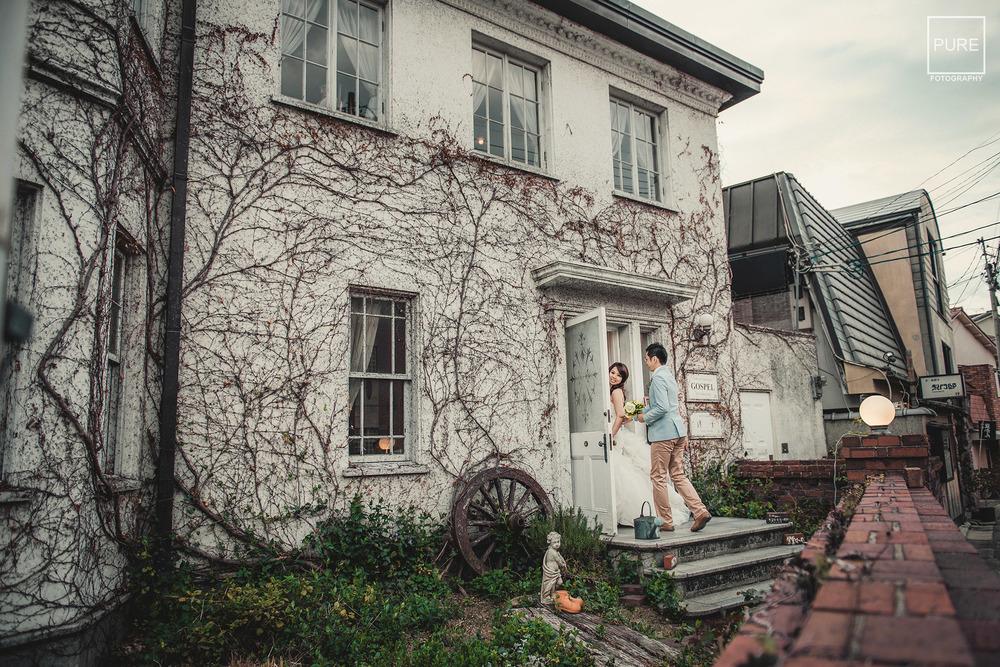 哲學之道 京都海外婚紗旅拍 海外婚紗京都 婚紗工作室