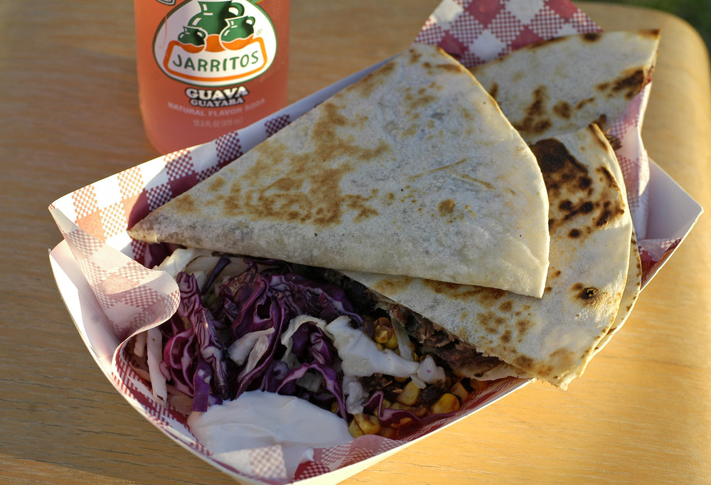 Texas Brisket Quesadillas