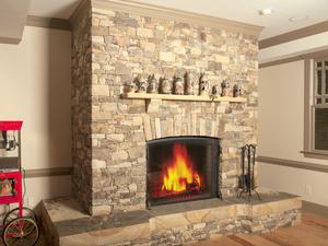 Fireplace Raised Hearth. Carved Raised Hearth Artisan Fireplaces  European Stone Masonry LLC