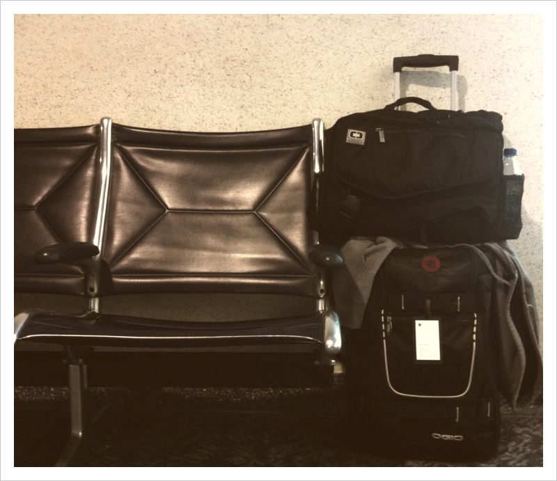 Nobody wants to sit next to your baggage.