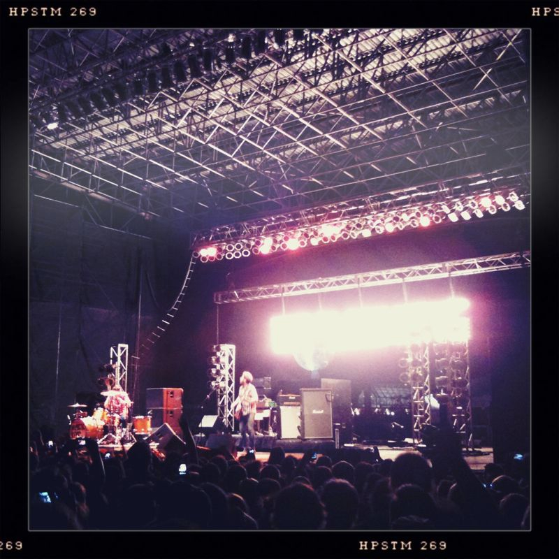Pretty sure concerts and festivals are part of my creative process. Black Keys