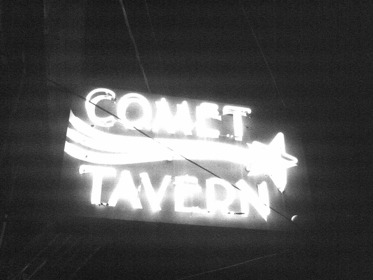A landmark in Seattle.  Comet Tavern