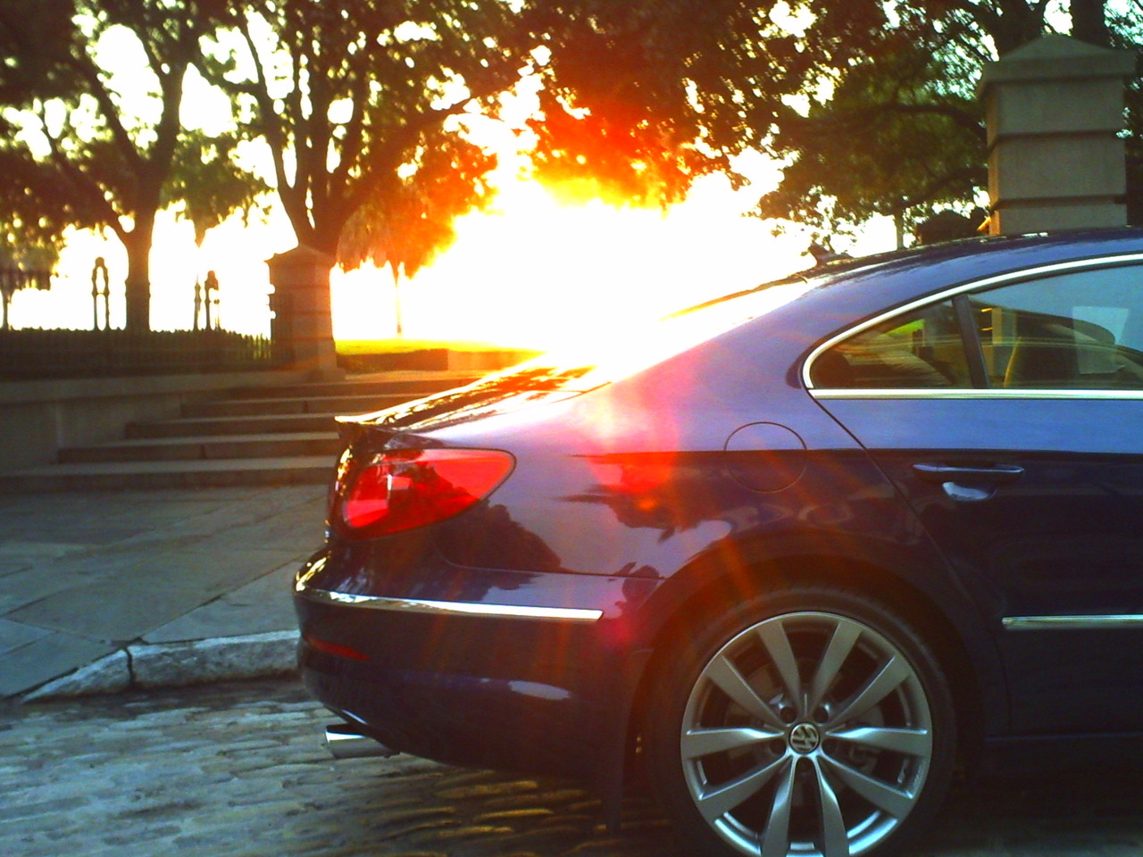 The 2011 Passat CC 4MOTION in Charleston, SC for Das Auto Magazine.