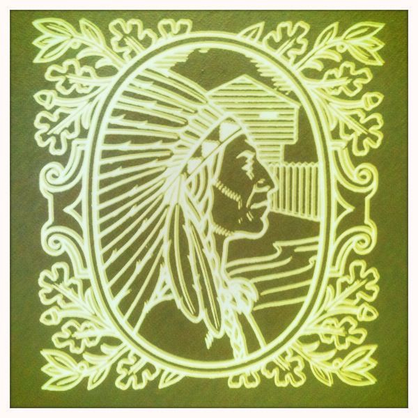 The icon for the RR Donnelley and Sons Printing Press factory in Mattoon, IL.