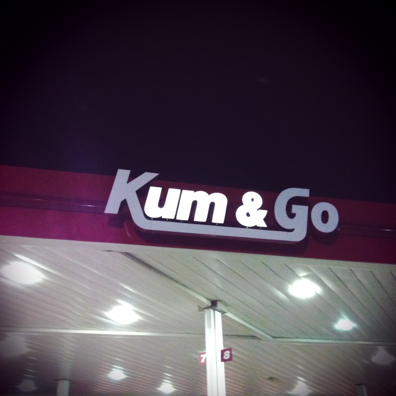 On our way through Iowa, we discovered this little gem of a branding success right after we passed the towns of Belle Pointe What Cheer and Marshmellowtown.