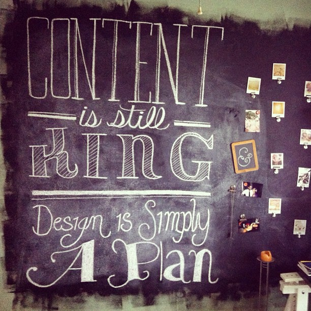 #chalkboard #chalk #lettering #typography #creativity #art #design #quote  (Taken with  instagram )