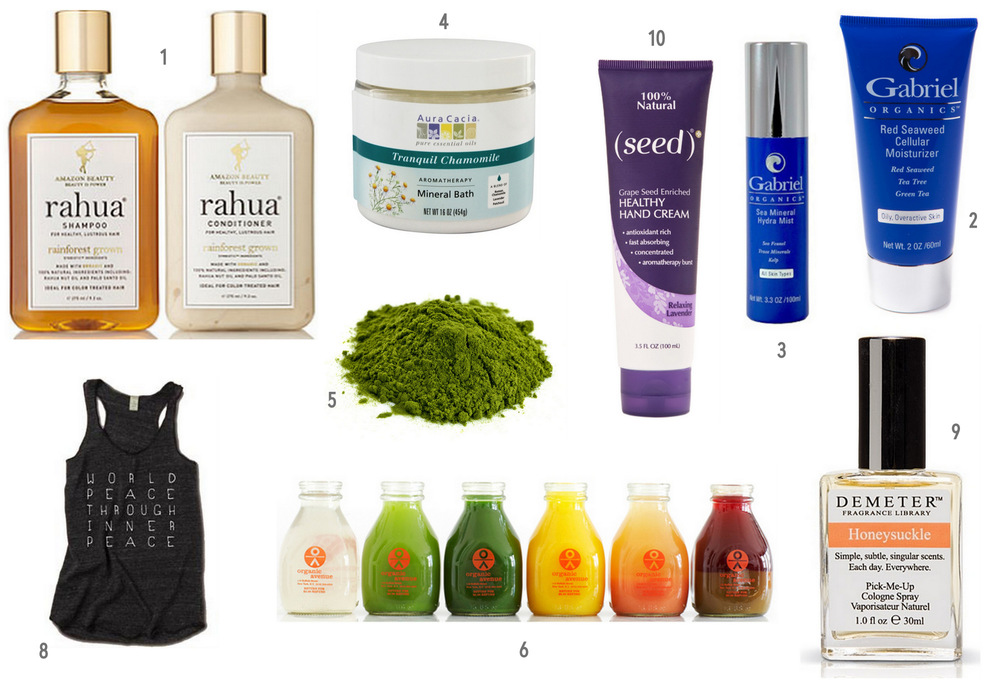 Denise Mari's Favourite Natural Beauty Products