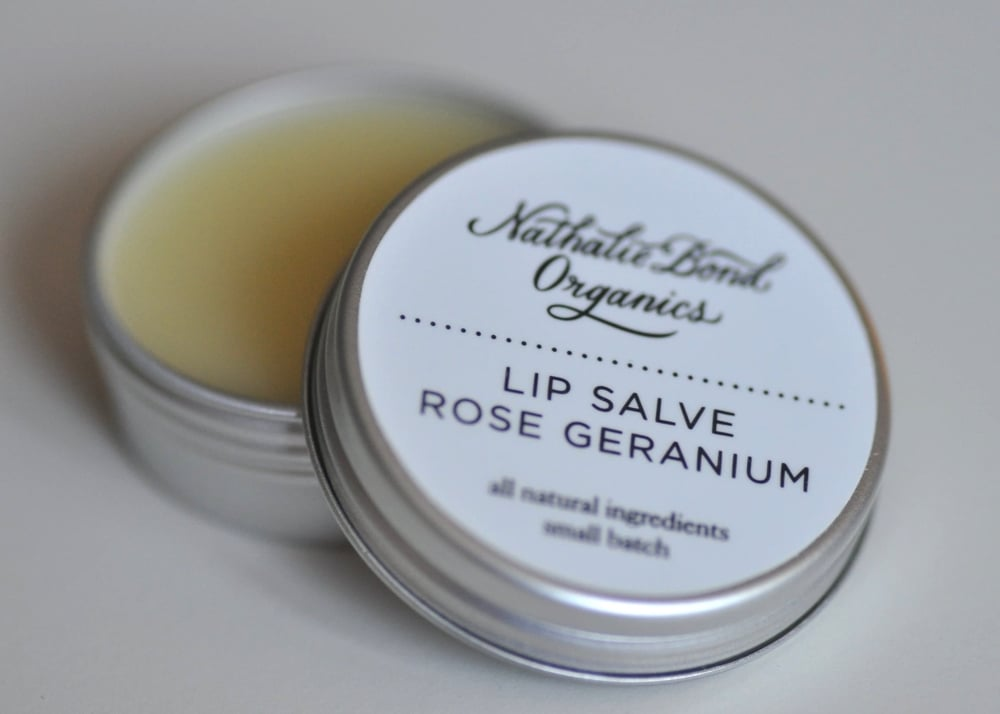 ROSE GERANIUM LIP SALVE