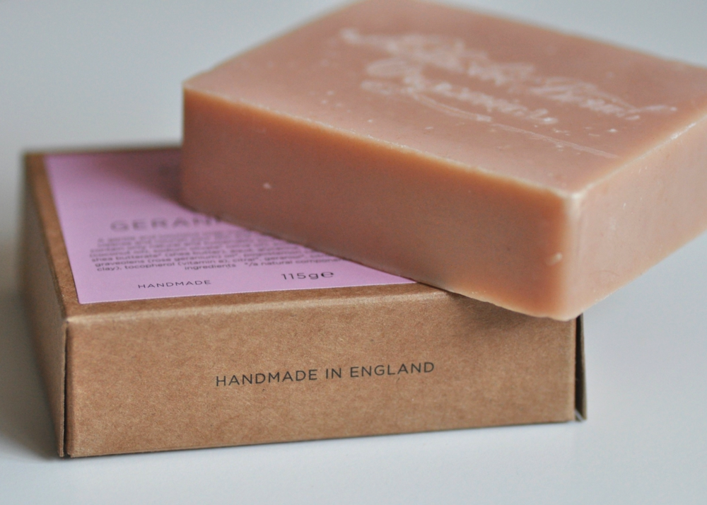 ROSE GERANIUM & PATCHOULI WASH BLOCK