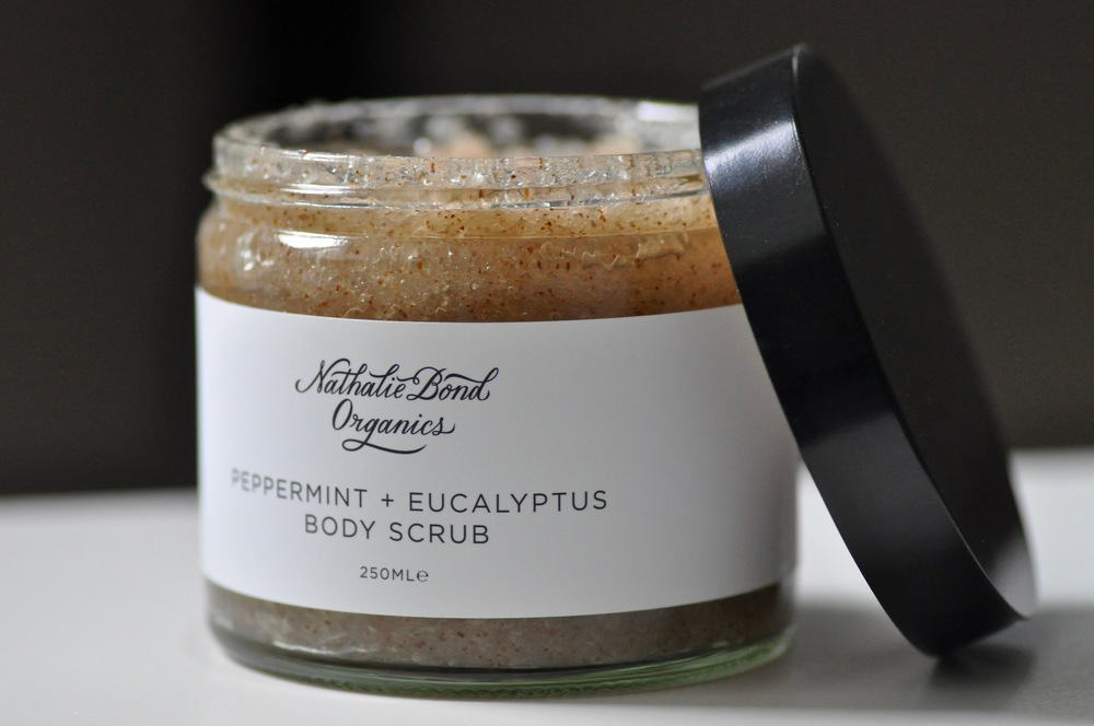Nathalie Bond Peppermint and Eucalyptus Body Scrub | © Helen Pockett