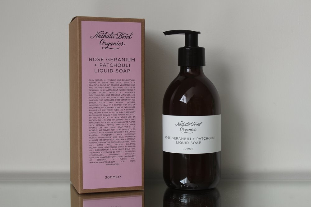 Nathalie Bond Liquid Soap | © Helen Pockett