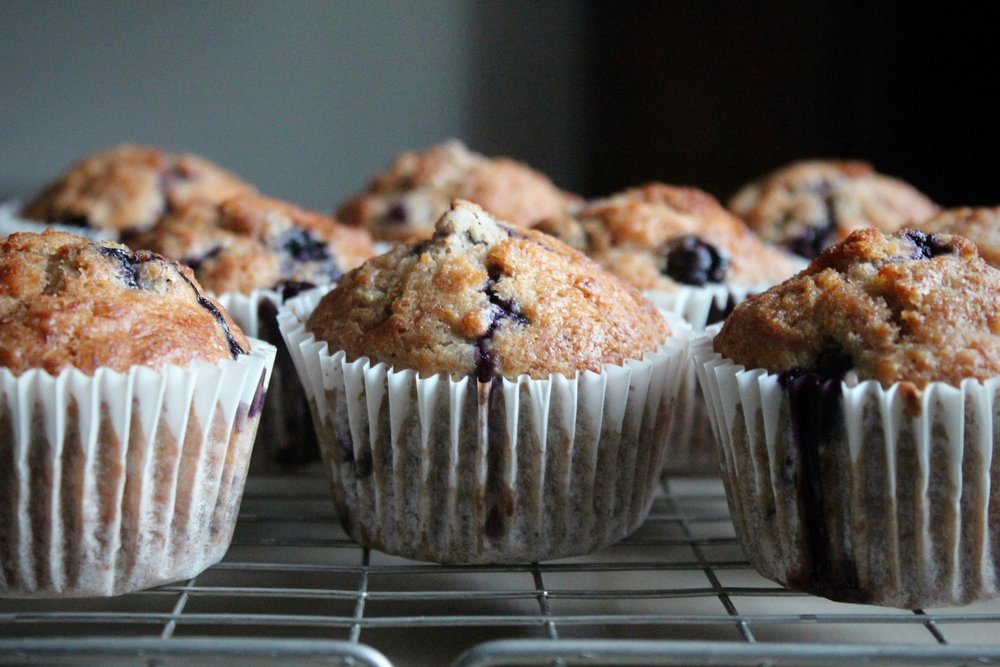 Blueberry Muffins | © Helen Pockett