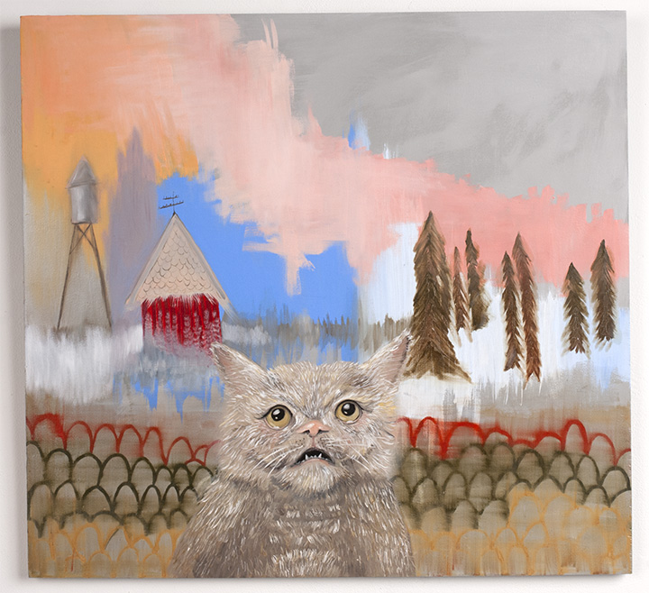 'Cat Remembers' by Melanie Sharr.  Photo by Aimee Santos
