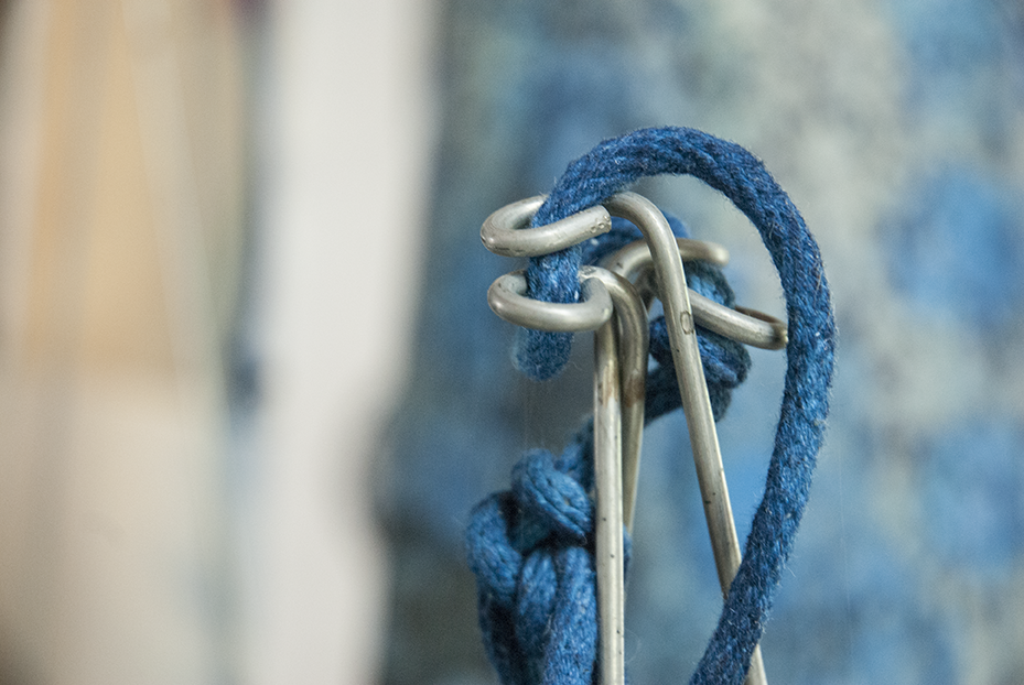 A detail shot from an element of Weiss' installation for the Craft and Folk Art Museum.  Photo © Aimee Santos