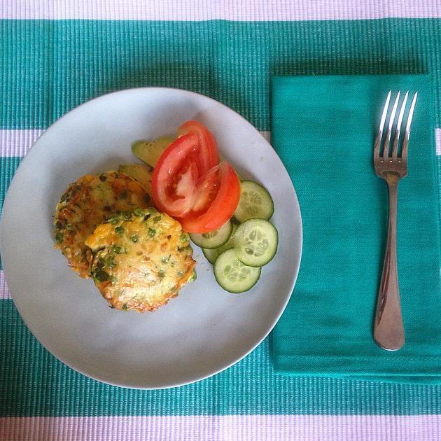 Corn, Pea & Zucchini recipe