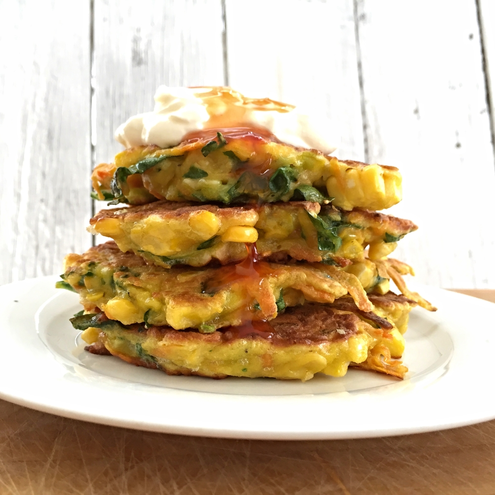 Fritter stack