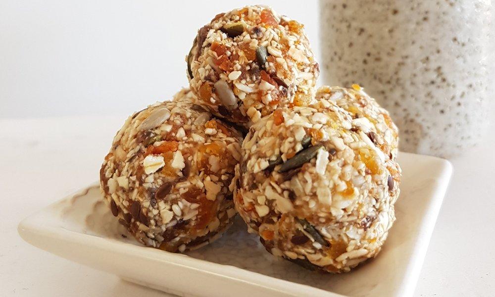 apricot seed balls