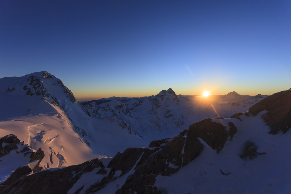 Sunrise at Mt Cook