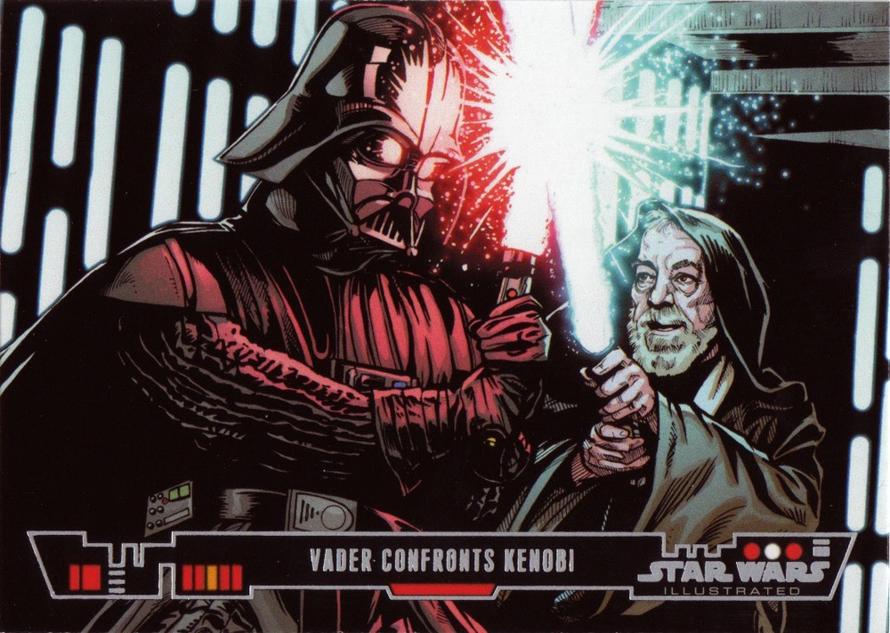 sw illustrated-Vader COnfronts Kenobi- cards.jpg