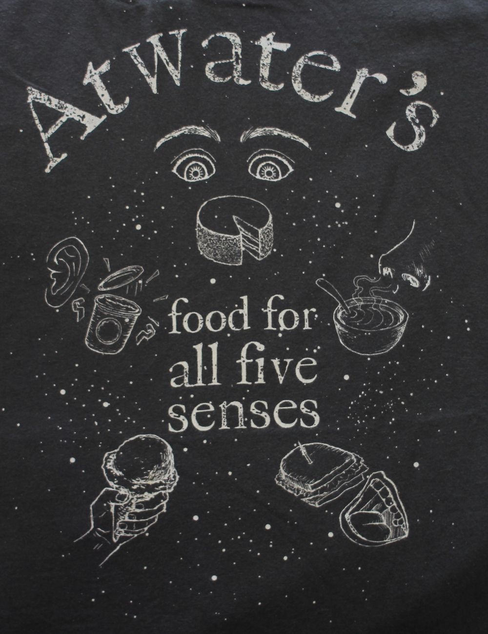 Atwater's. Food for All Five Senses.