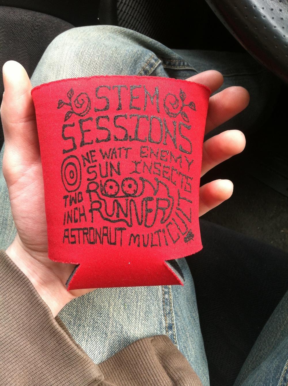 Stem Sessions Koosies