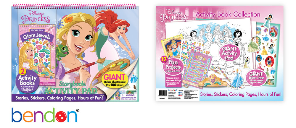 Disney Princess Activity Pad