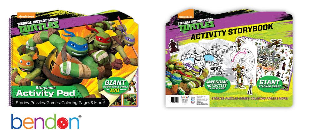 Teenage Mutant Ninja Turtles Activity Pad