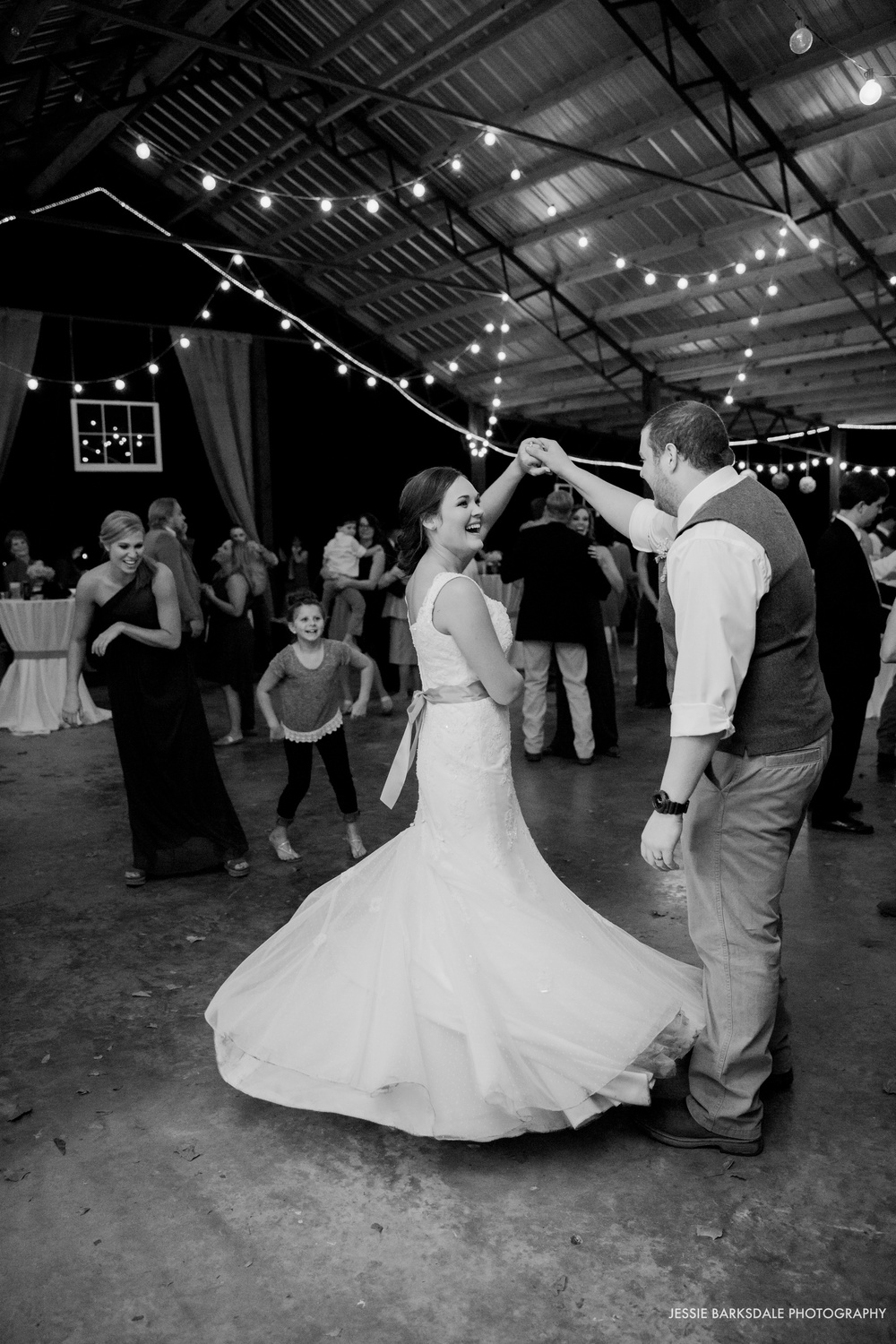 Jessie Barksdale_Elms Coosada_Plantation Home_First Dance Smile Laugh_Bride and Groom Kiss_Fall Wedding Inspiration_Birmingham Montgomery Alabama Atlanta Selma Wedding Photographer