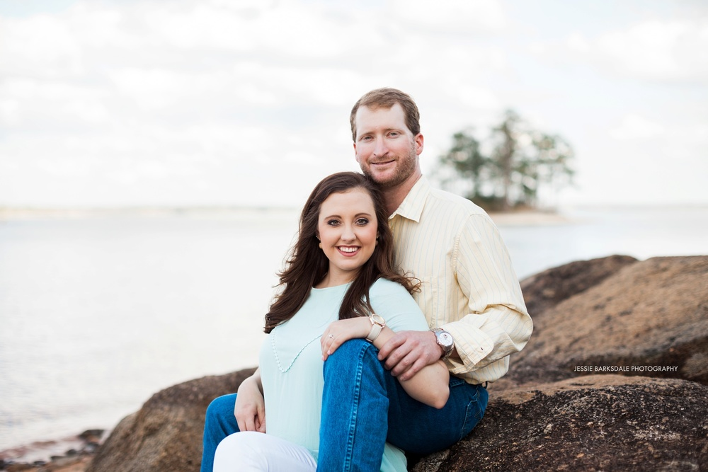 Jessie Barksdale Photography_Childrens Harbor Lighthouse Lake Martin_Rocky Beach_Alex City_Birmingham Montgomery Alabama Fine Art Film Destination Romantic Engagement Love Wedding Photographer_001