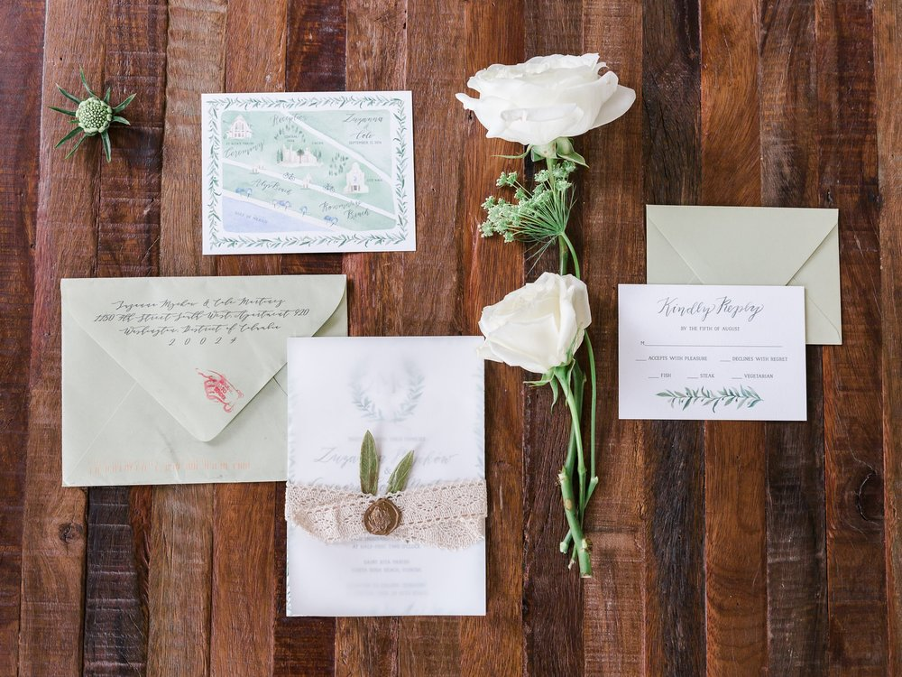 Jessie Barksdale Photography_emily rose ink invitation suite beach wedding