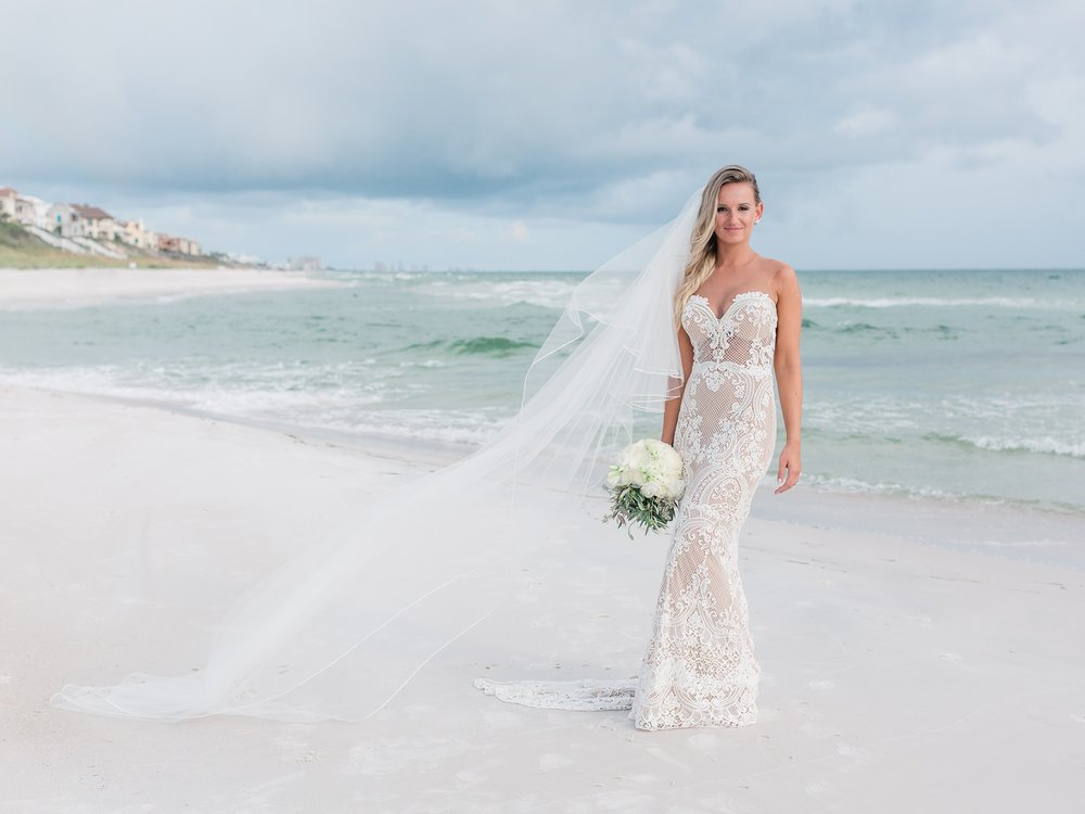 Jessie Barksdale Photography_gorgeous berta wedding dress_beach bridal portrait film photographer