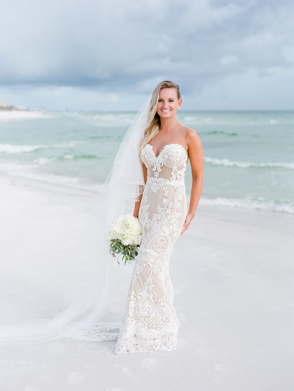 Jessie Barksdale Photography_beautiful bride_beach wedding inspiration_berta wedding dress