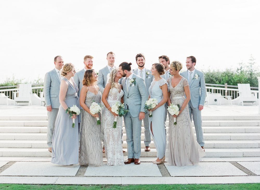 Jessie Barksdale Photography_wedding party pastel blue champagne nude color inspiration