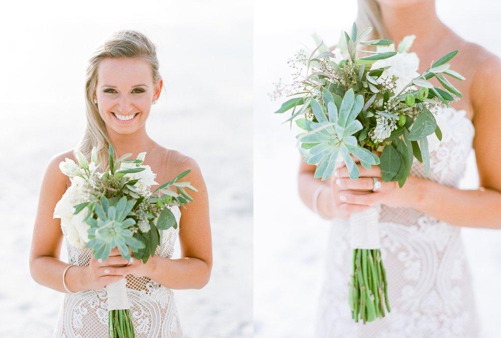 Jessie Barksdale Photography_succulent white rose eucalyptus bouquet