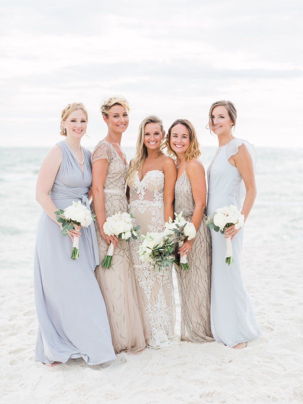Jessie Barksdale Photography_gorgeous pastel bridal party inspiration_mismatched bridesmaids dresses