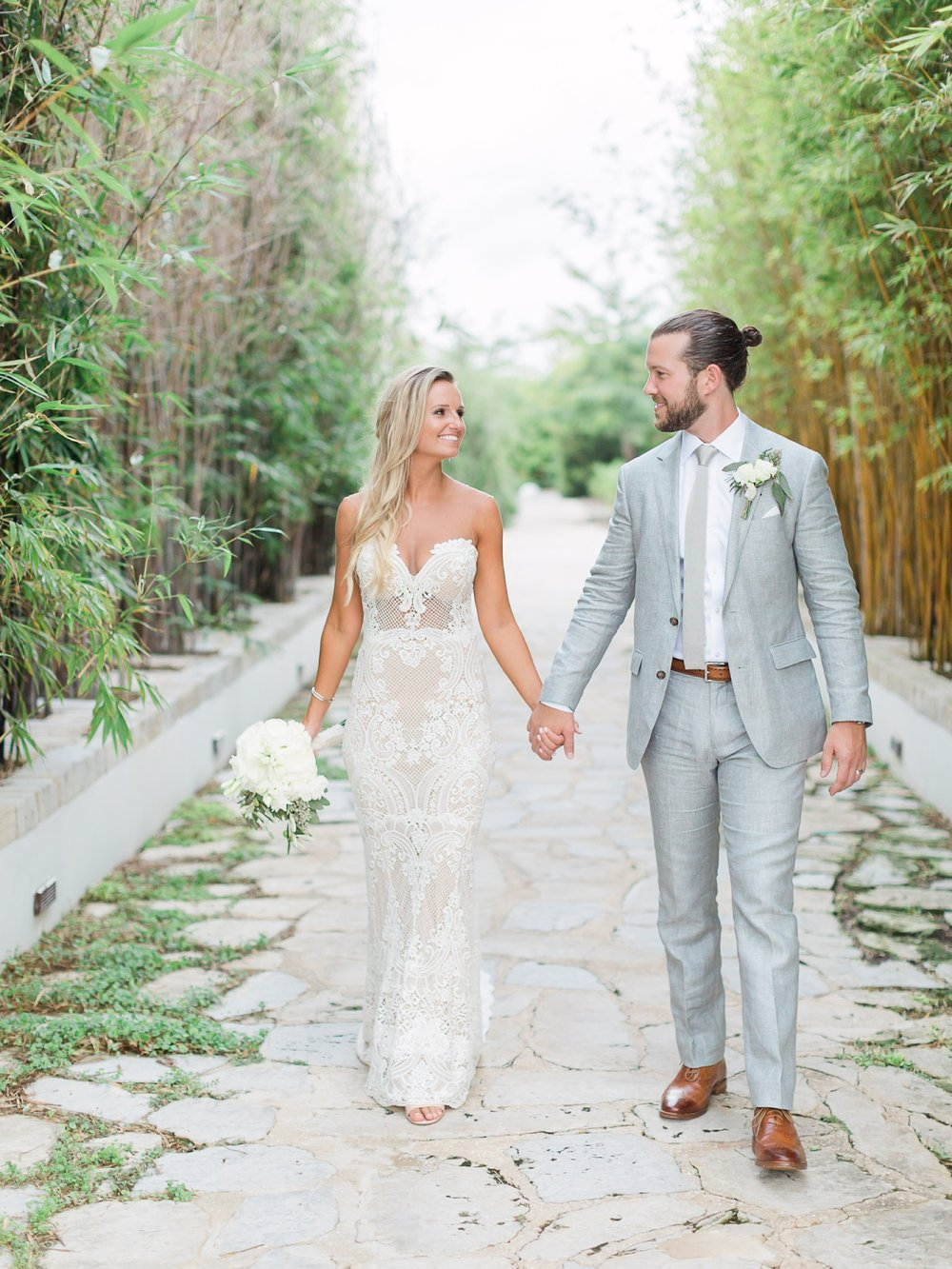 Jessie Barksdale Photography_tropical destination wedding_alys beach fl_lace wedding gown