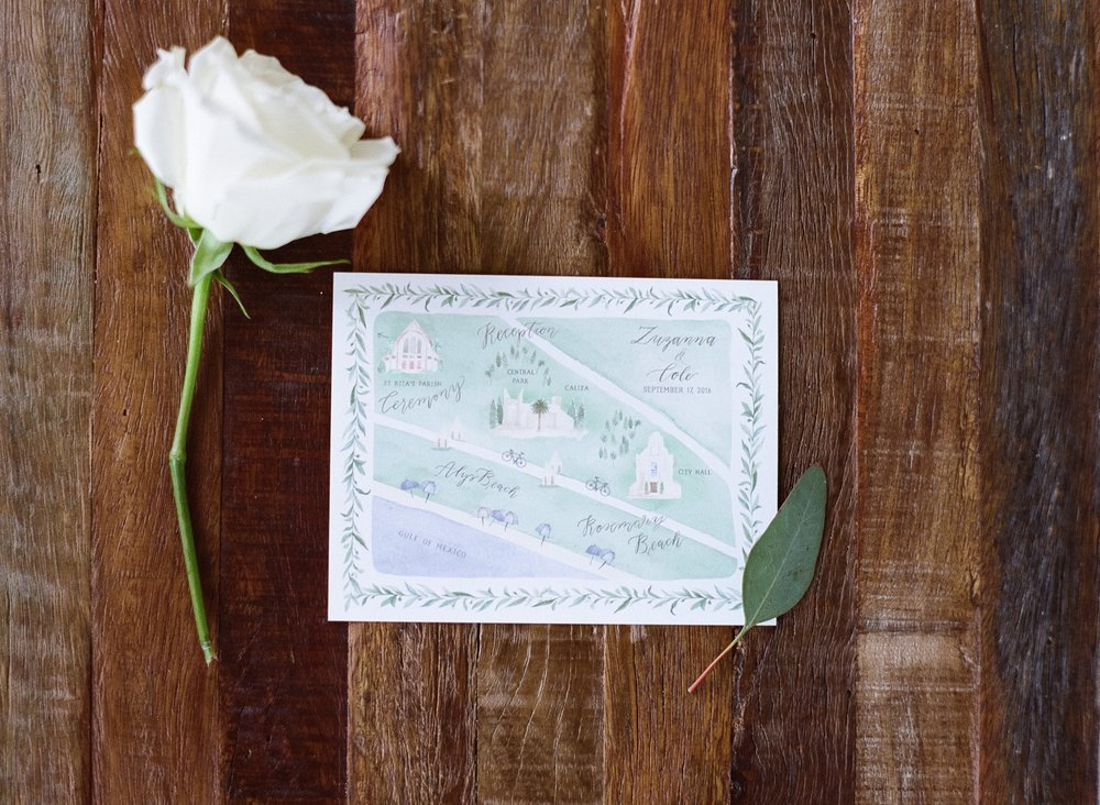Jessie Barksdale Photography_emily rose ink wedding map