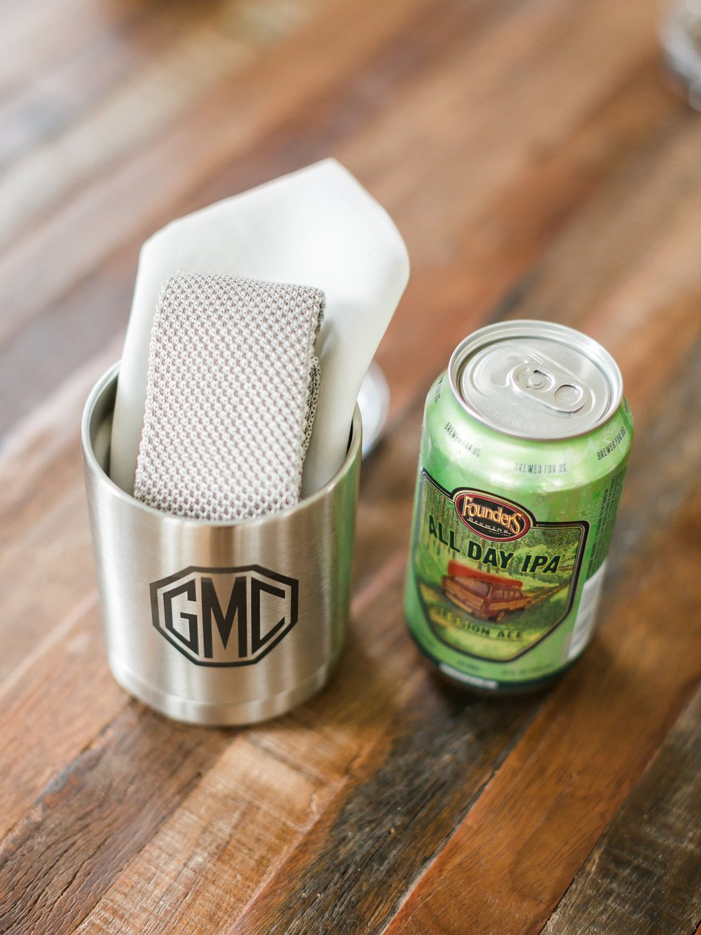 Jessie Barksdale Photography_yeti rambler lowball_ all day ipa groomsmen gift