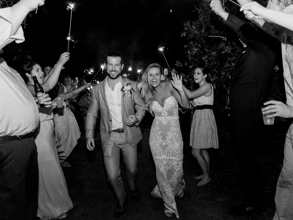 Jessie Barksdale Photography_beautiful sparkler exit