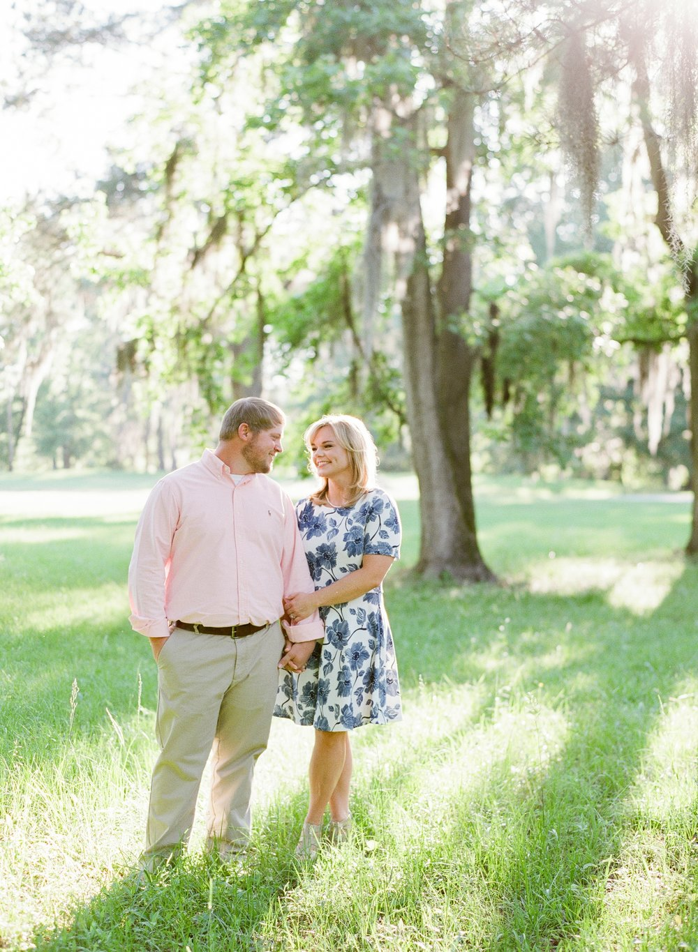 Beautiful Engagement Session on Fuji 400h Film with Contax 645