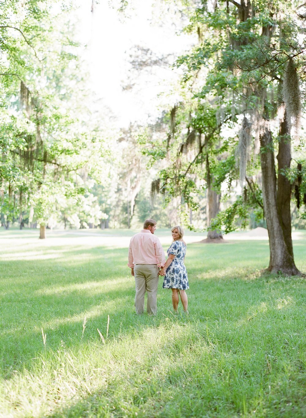 Spring Engagement Session Montgomery Alabama