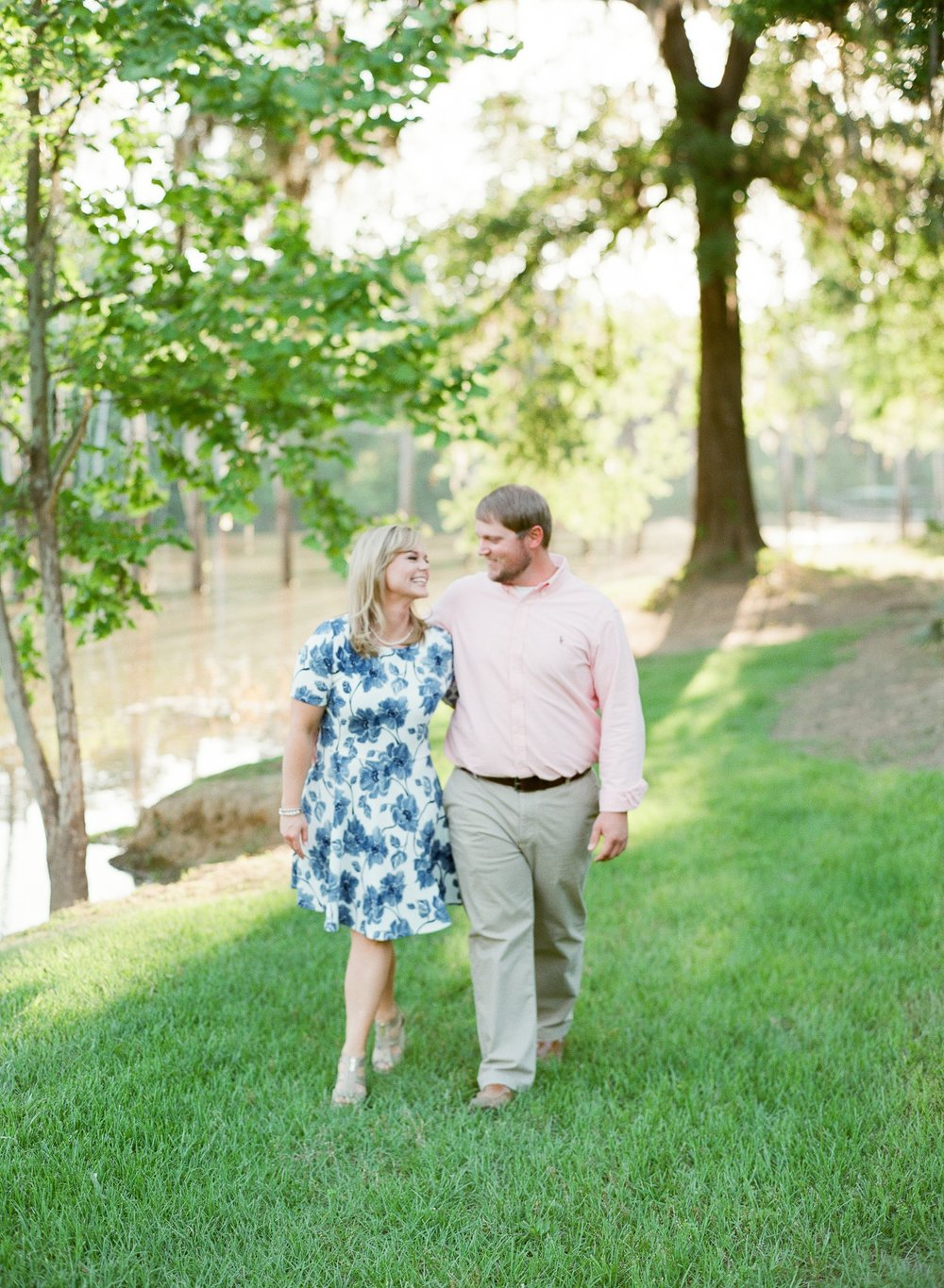 Romantic Waterside Engagement Session